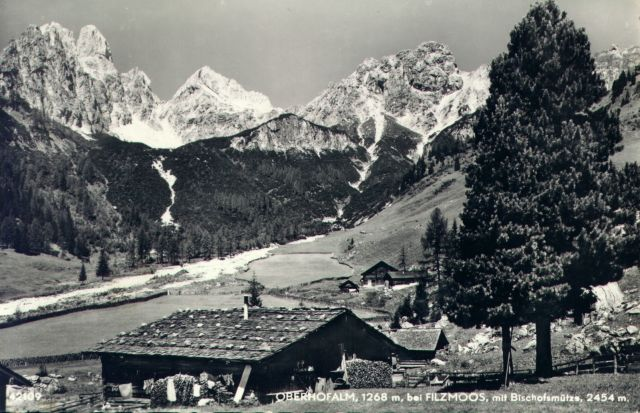 Oberhofalm in Filzmoos - Geschichte & Chronik