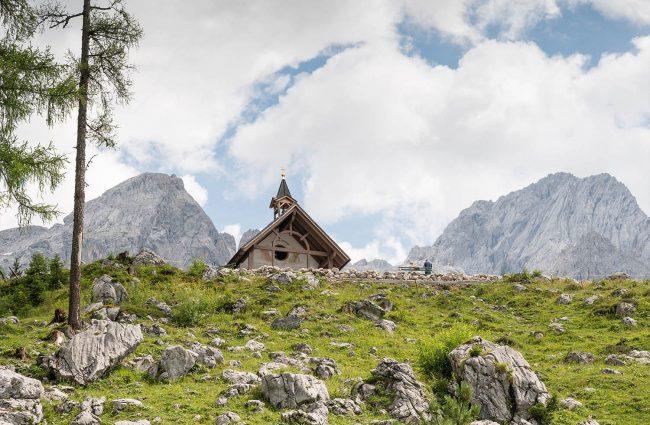 Oberhofalm in Filzmoos - Kapelle Maria am Steineggl