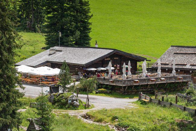 Ausflugsziel Oberhofalm in Filzmoos