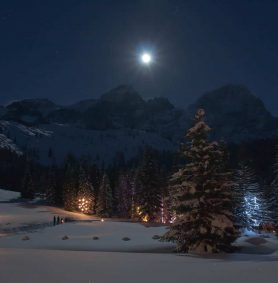Weihnachtsidylle Oberhofalm - Advent in Filzmoos